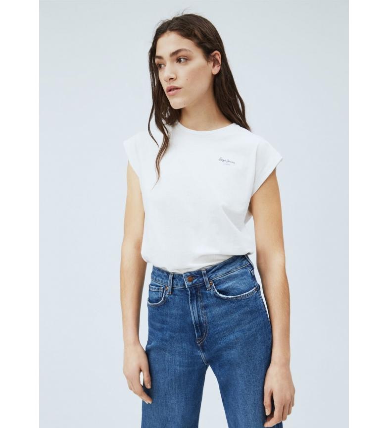 Comprar Pepe Jeans Camiseta Básica Bloom blanco