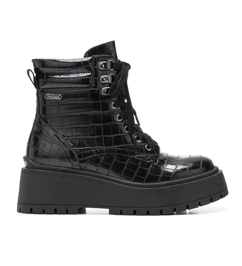 Comprar Pepe Jeans Botines Bobbing Croco negro