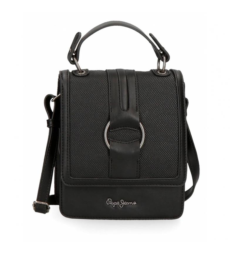 Comprar Pepe Jeans Daphne shoulder bag black -17x21x8cm