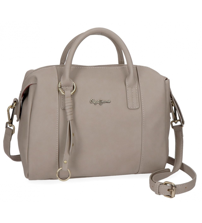27475d77a2b Pepe Jeans - Bolso bowling Pepe Jeans Karla Beig -29x19x15cm- Mujer ...