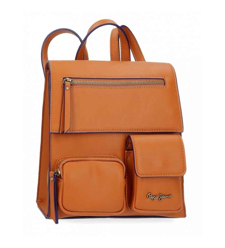 Comprar Pepe Jeans Backpack Bag Pepe Jeans Zoe brown -23x24x9cm