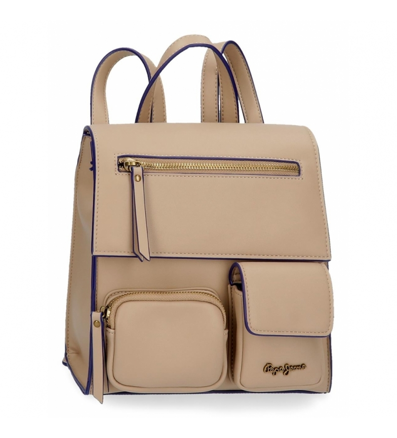 Comprar Pepe Jeans Backpack Bag Pepe Jeans Zoe taupe -23x24x9cm