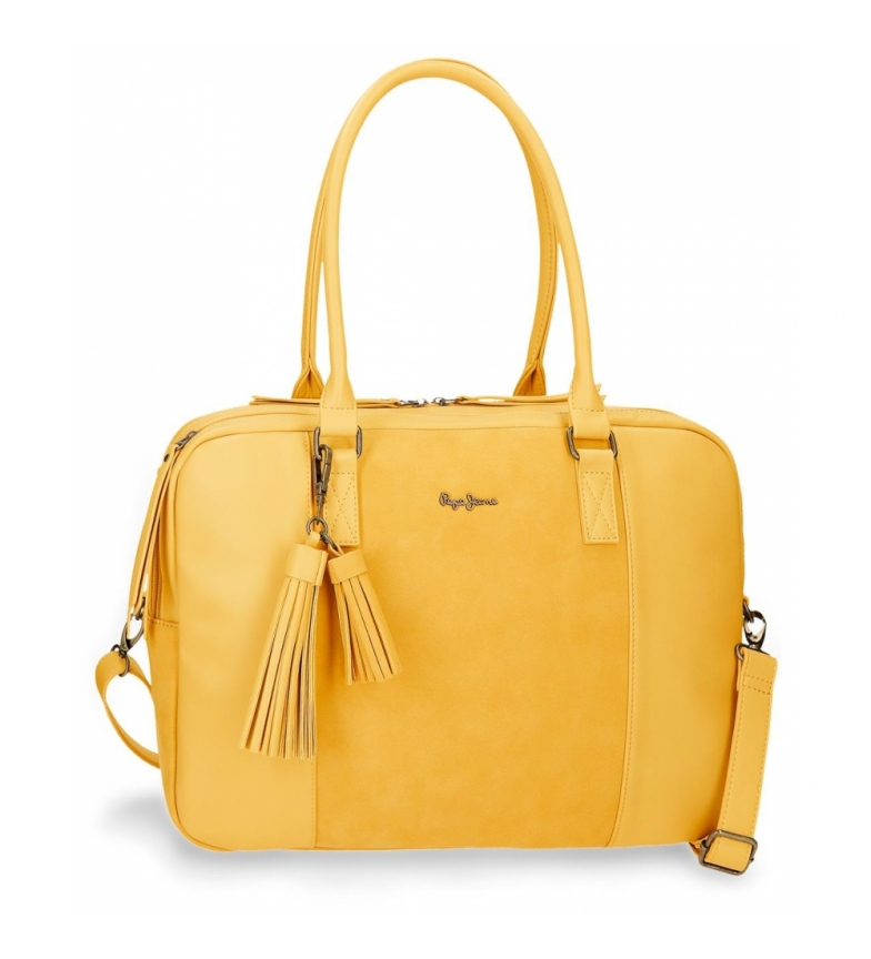Comprar Pepe Jeans Computer bag Pepe Jeans Bitmat Yellow -41x29x9cm