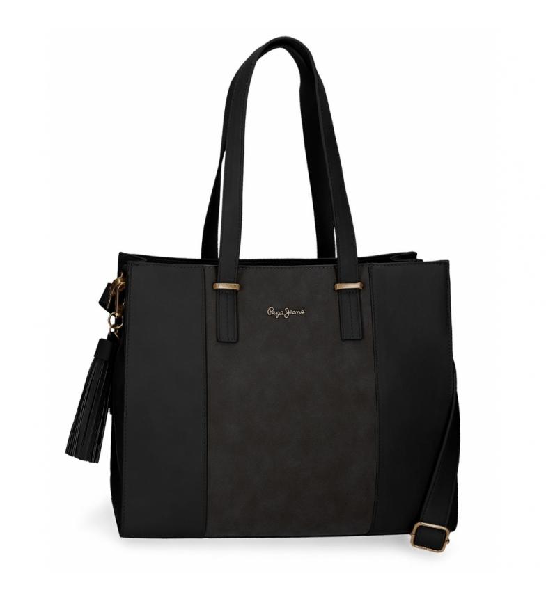 Comprar Pepe Jeans Bag Pepe Jeans Bitmat Black - 31x36x13,5cm-