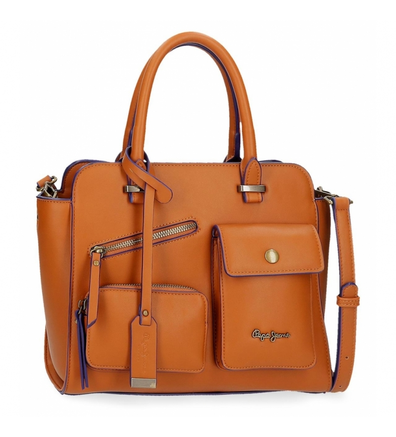 Comprar Pepe Jeans Pepe Jeans Zoe bag brown -29x25x12cm