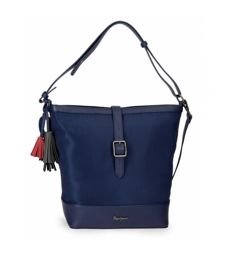 Comprar Pepe Jeans Bolso shopper Pepe Jeans Ann Azul -28x32x14cm-