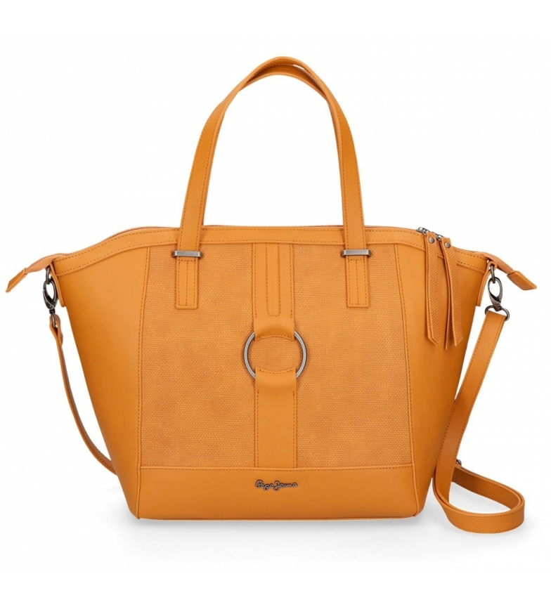 Comprar Pepe Jeans Shopper Daphne ochre bag -42x31x12cm