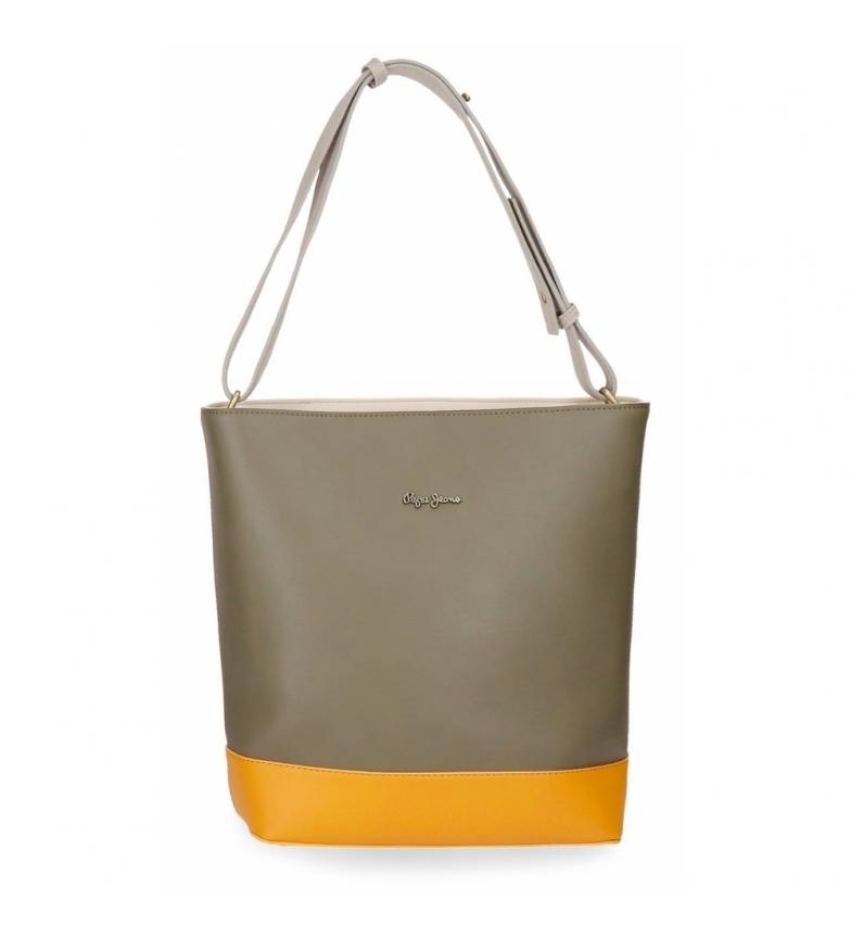 Comprar Pepe Jeans Shopper bag Pepe Jeans Mona Green -27x32x11,5cm