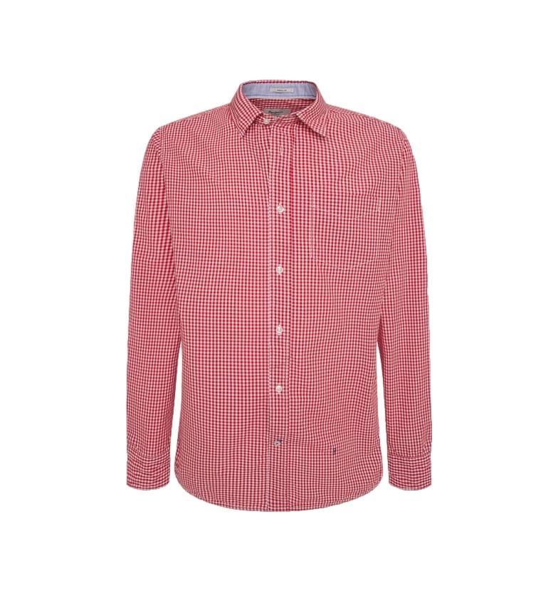 Comprar Pepe Jeans Vichy Braydon red shirt