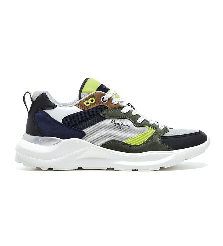 Comprar Pepe Jeans Brooks ETD Navy, gris, vert, chaussures de marine