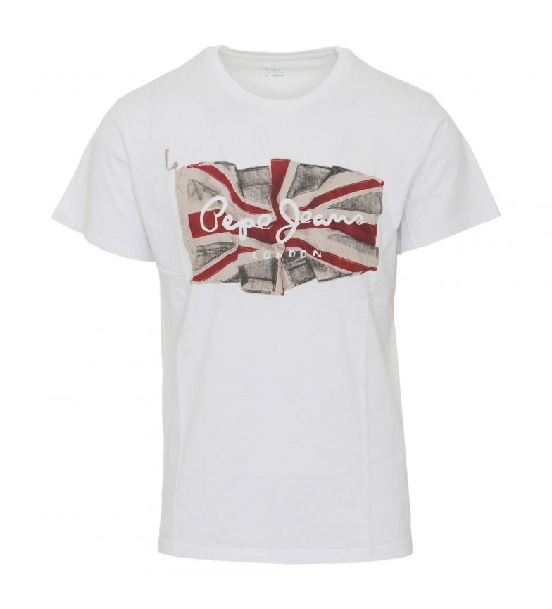 Comprar Pepe Jeans T-shirt drapeau blanc