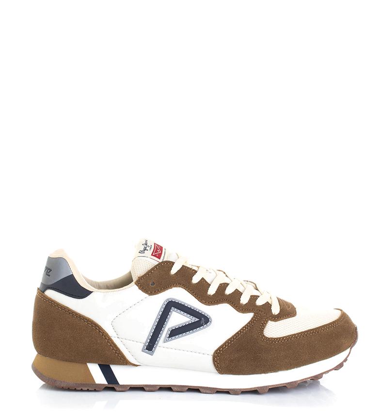 Comprar Pepe Jeans Zapatillas Klein Archive marrón, blanco