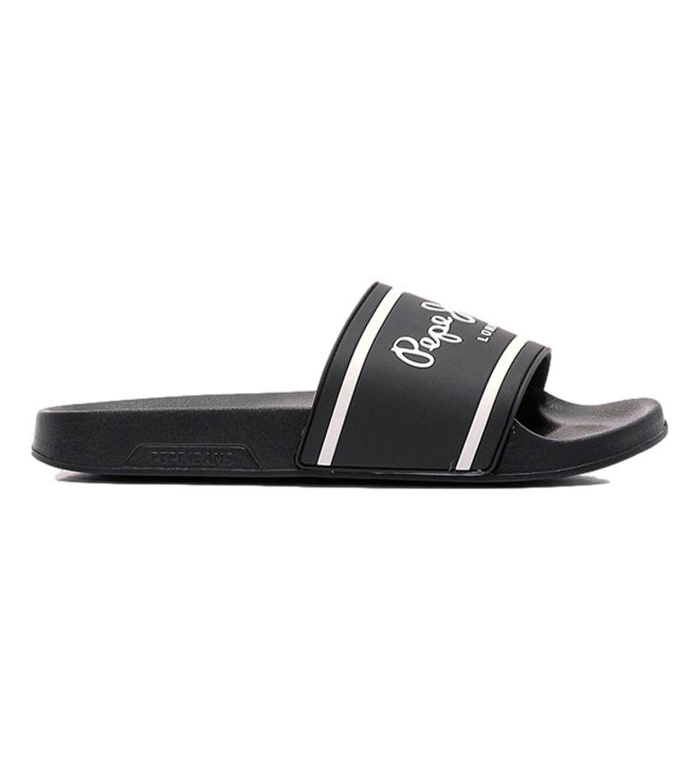 Pepe Jeans Slipper Basic Man black