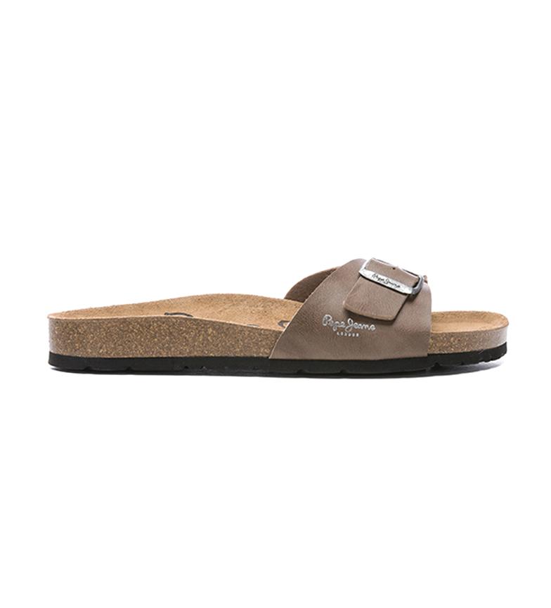 Comprar Pepe Jeans Sandalias PMS90082   marrón