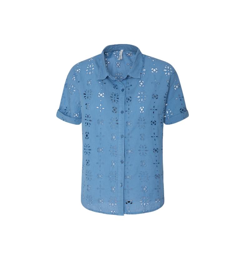 Comprar Pepe Jeans Lara camicia blu