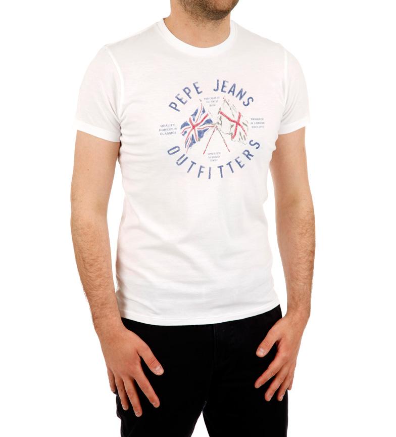 Comprar Pepe Jeans DIREÇÃO camisa bandeira branca