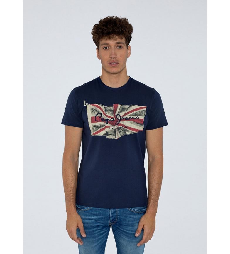 Comprar Pepe Jeans Flag Logo T-shirt navy