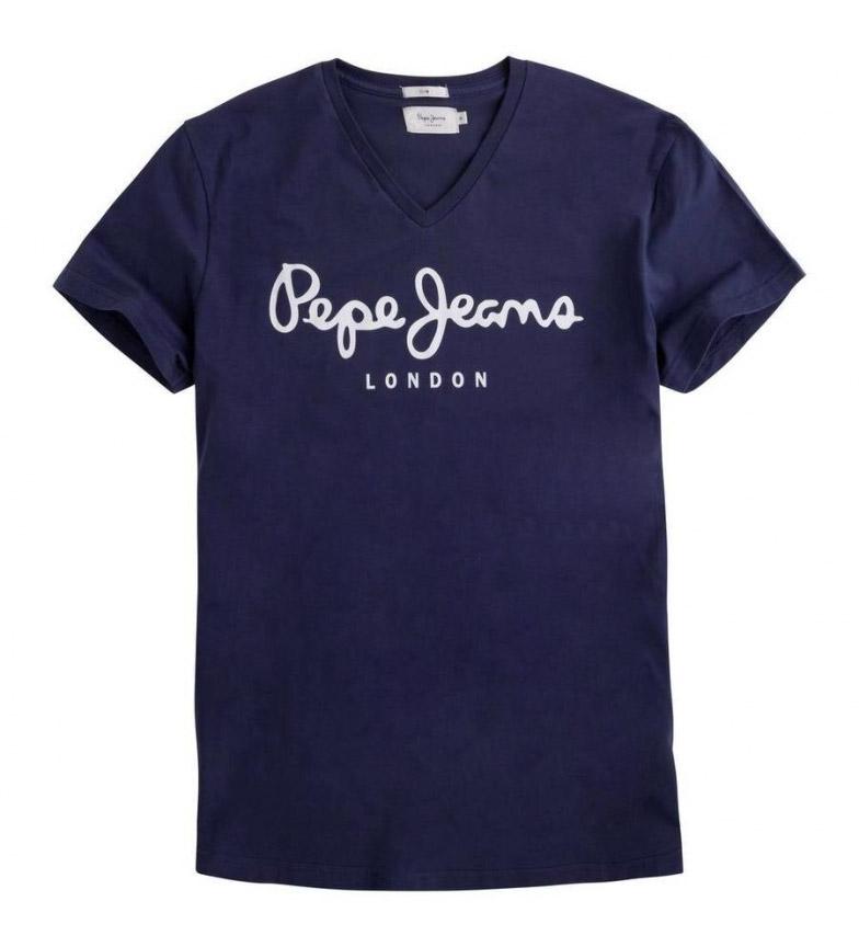 Comprar Pepe Jeans Original Stretch V navy T-shirt
