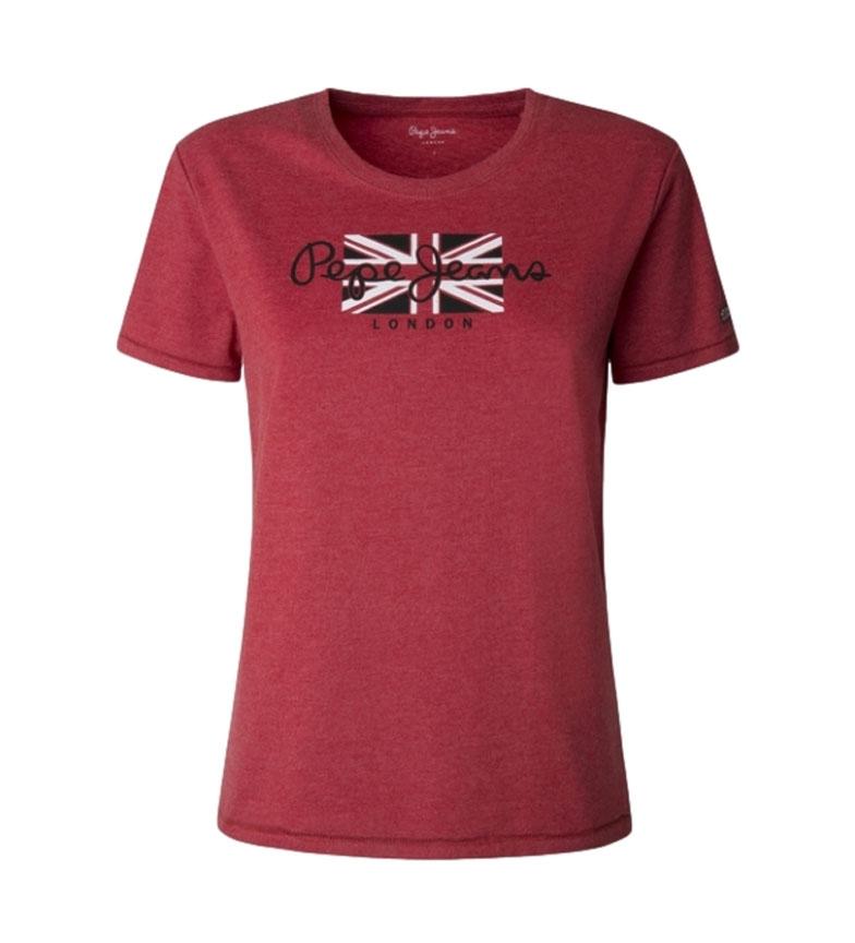 Pepe Jeans Maglietta Zaidas rossa