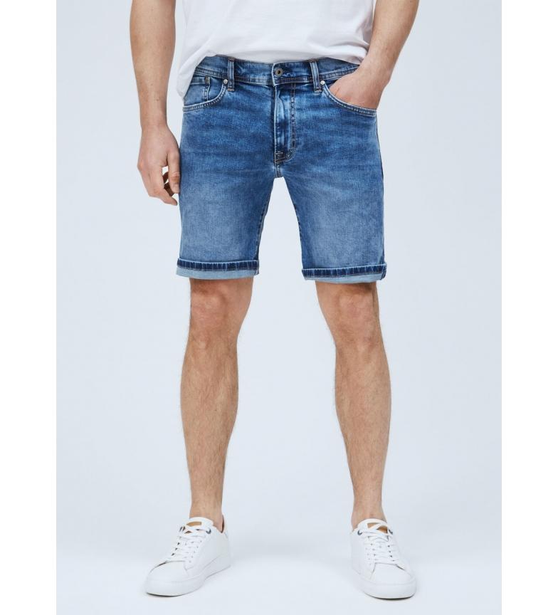 Pepe Jeans Shorts Denim Cane azul