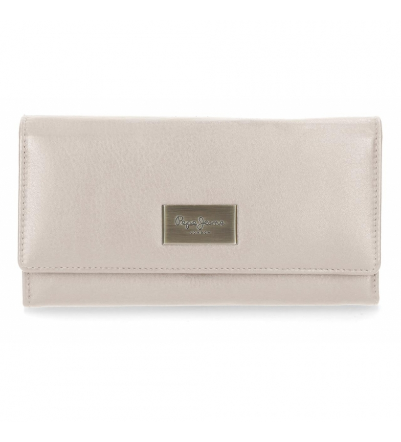 Comprar Pepe Jeans Wallet with flap Pepe Jeans Lica Beige -19x10x2.5cm-