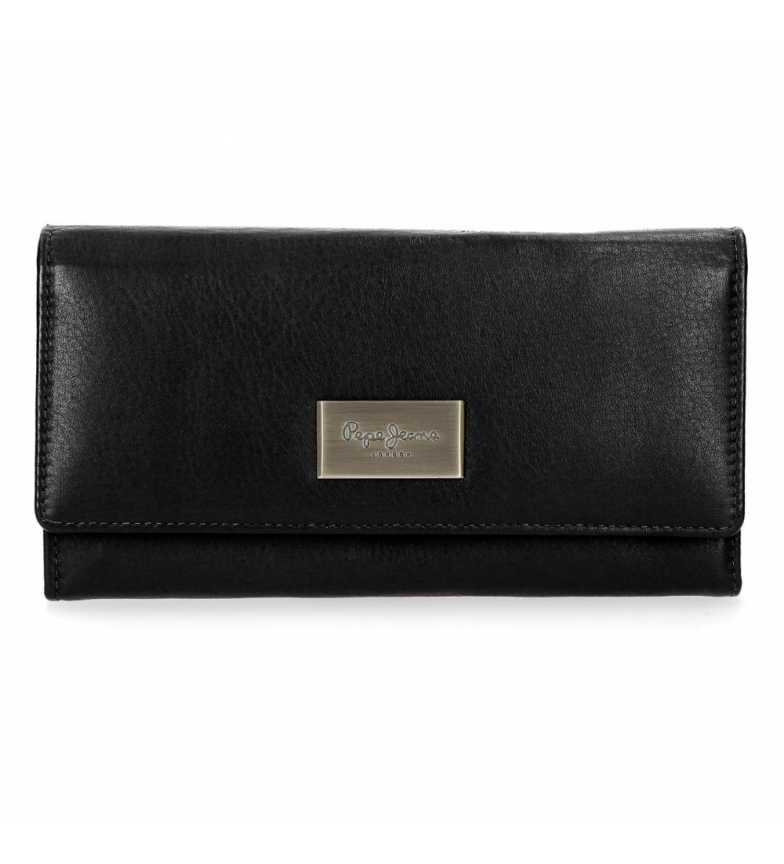 Comprar Pepe Jeans Wallet with flap Pepe Jeans Lica black -19x10x2.5cm-