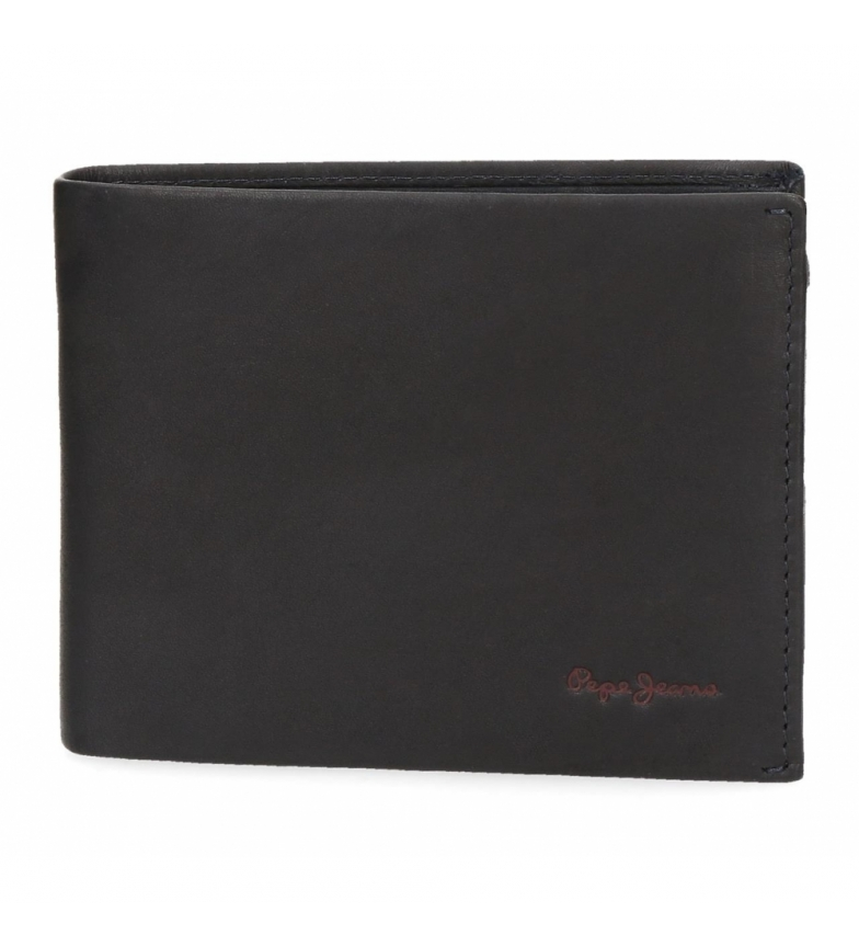 Comprar Pepe Jeans Pepe Jeans Fair leather wallet horizontal blue -12.5x9.5x1cm