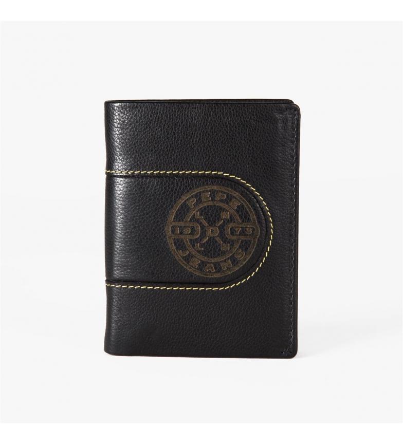 Comprar Pepe Jeans Portafoglio Pepe Jeans verticale bruciato con borsa nera -8,5x11,5x 1cm-