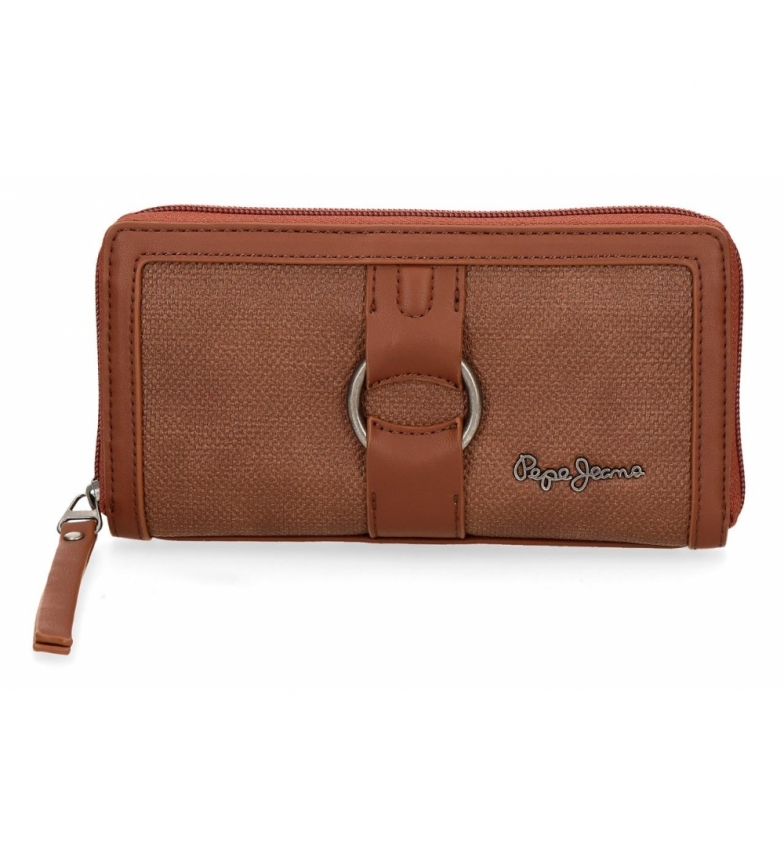 Comprar Pepe Jeans Daphne wallet brown -18x10x2cm