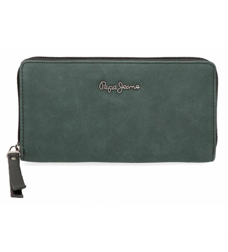 Comprar Pepe Jeans Duane black wallet -18x10x2cm