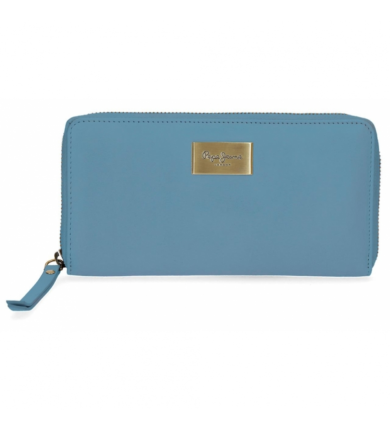 Comprar Pepe Jeans Portafoglio Pepe Jeans Lica Blue Wallet -19.5x10x2cm-