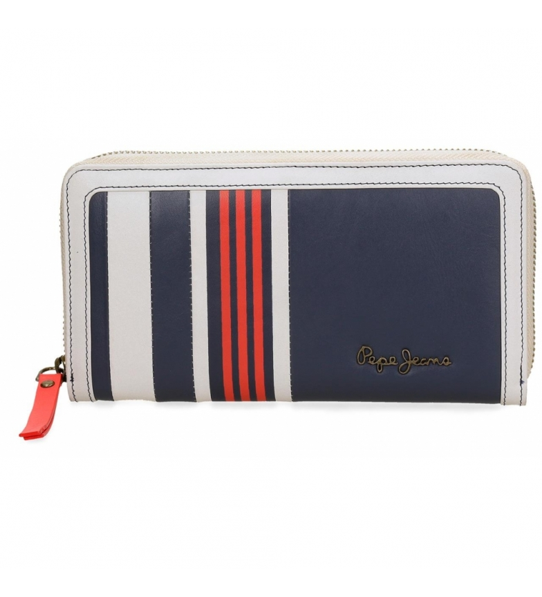 Comprar Pepe Jeans Pepe Jeans Lines leather wallet -19,5x10x2cm
