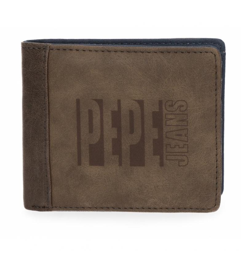 Comprar Pepe Jeans Cartera Pepe Jeans Max marrón -10,5x9x2cm-