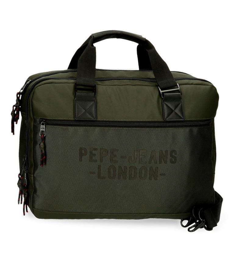 Comprar Pepe Jeans Titolare del cartone Pepe Jeans Bromley verde -42x33x11cm-