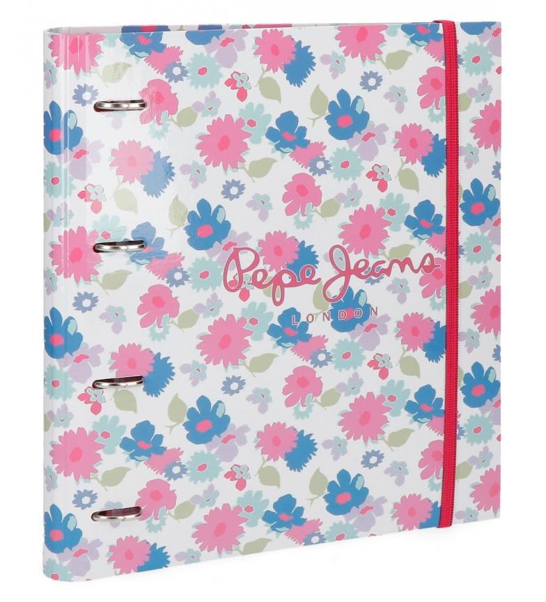 Comprar Pepe Jeans Cuaderno con anillas Pepe Jeans Kasandra -26x33x5cm-