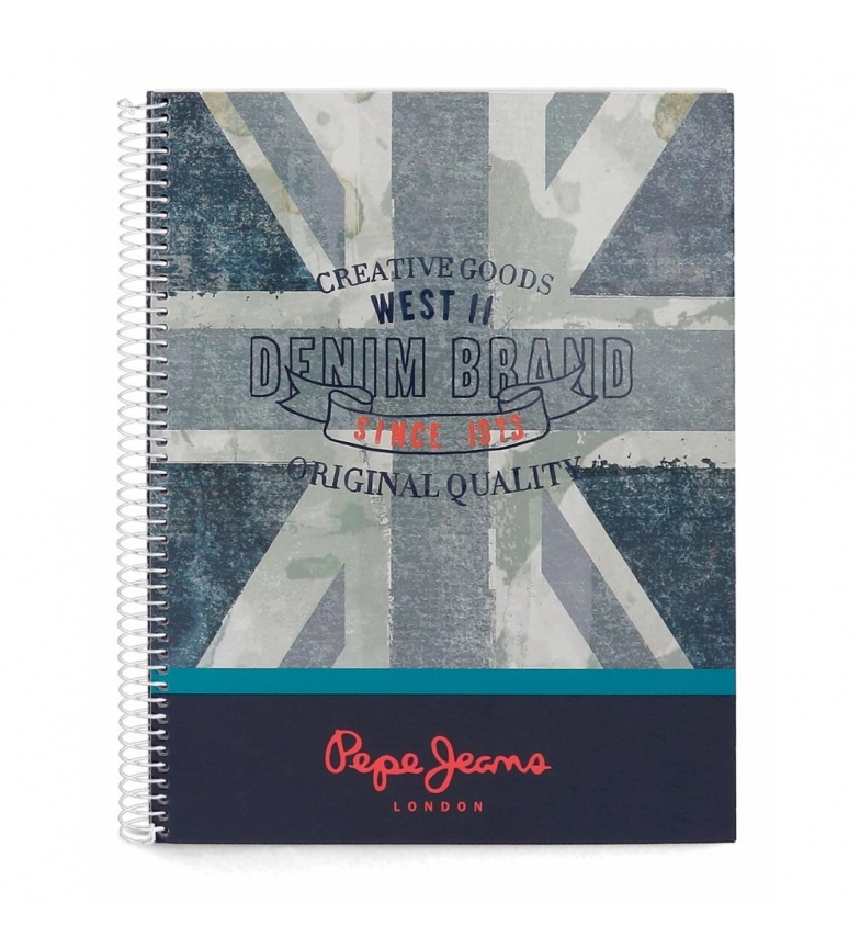 Comprar Pepe Jeans Pepe Jeans Ian A4 hardcover notebook -21,5x29cm