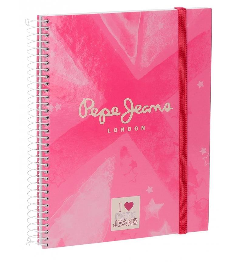 Comprar Pepe Jeans Cuaderno Pepe Jeans Clea A5 -10,7x14,5cm-