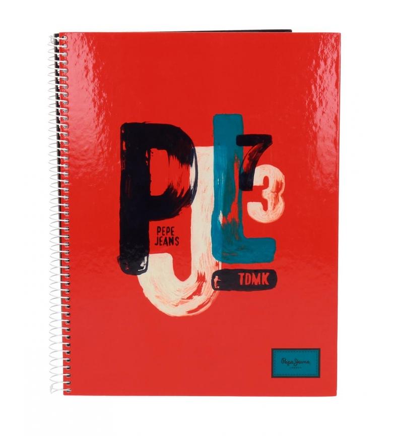 Comprar Pepe Jeans Pepe Jeans James caderno vermelho