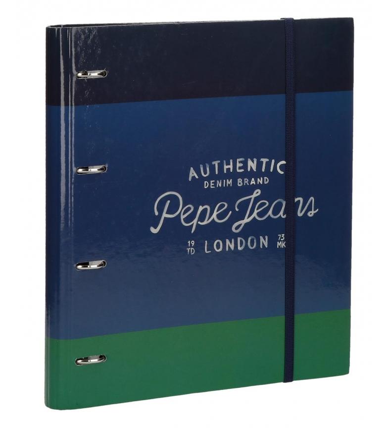 Comprar Pepe Jeans Cuaderno Pepe Jeans Kepel con anillas  -33x26x5cm-