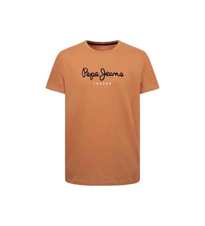Comprar Pepe Jeans Basic T-shirt Logo Eggo orange