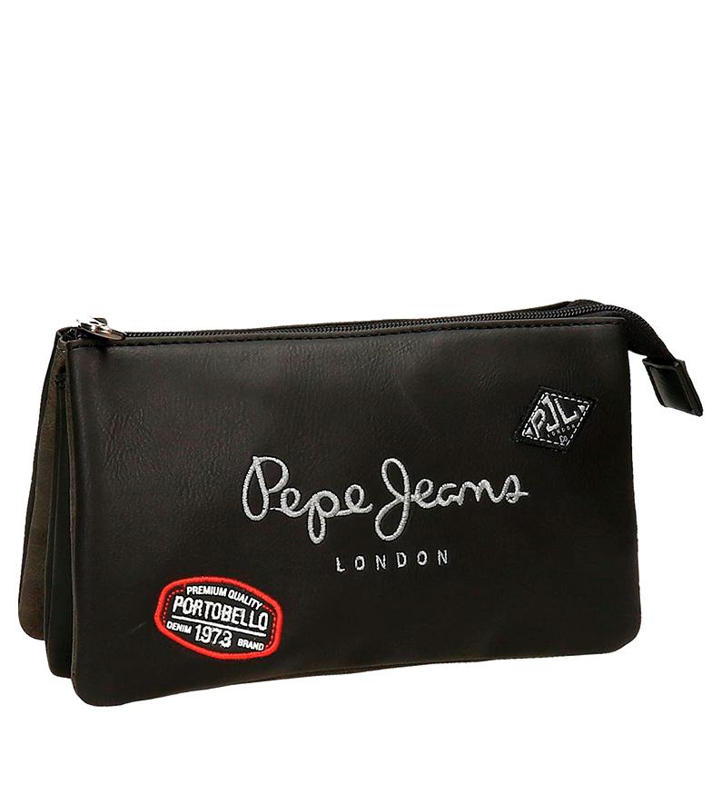 Comprar Pepe Jeans Estuche Duetone negro-12x22x5 cm-