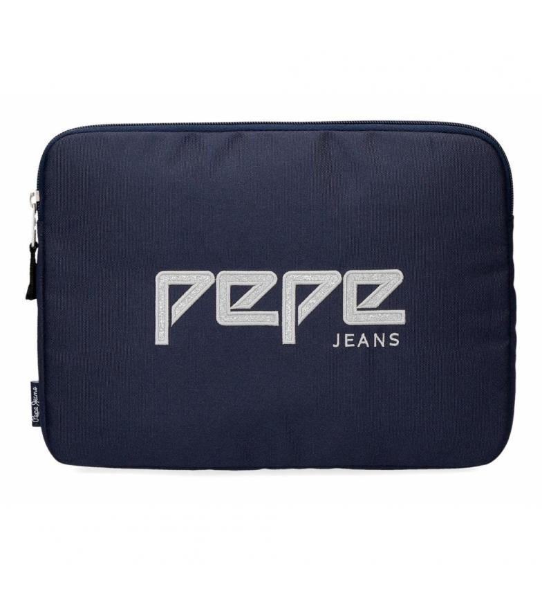 Comprar Pepe Jeans Capa para Tablet Pepe Jeans Uma azul marinho -30x22x2x2cm