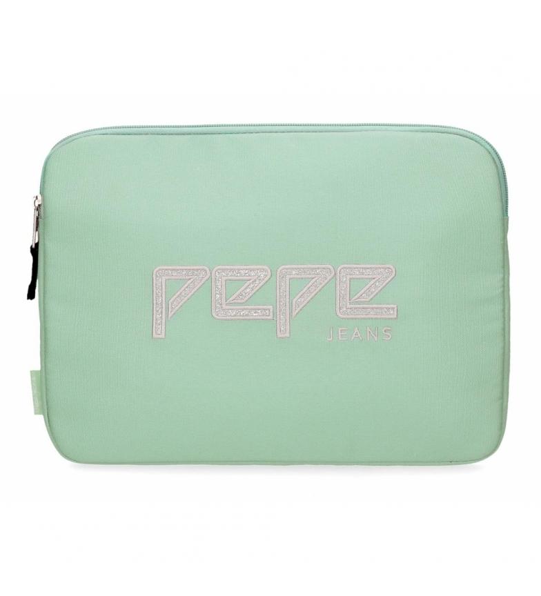 Comprar Pepe Jeans Capa para Tablet Pepe Jeans Uma verde -30x22x2x2cm