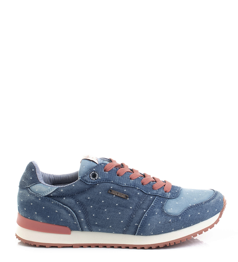 Comprar Pepe Jeans Scarpe blu Gable Patch dot