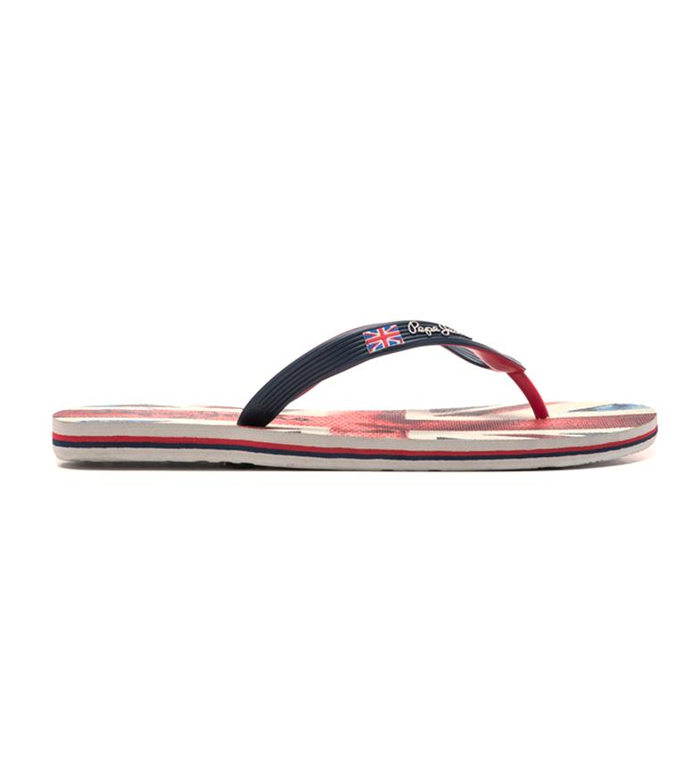 Pepe Jeans Hawi Banner Black Flip-flops