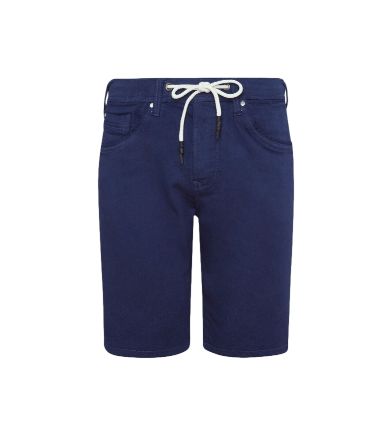 Pepe Jeans Gymdigo Jagger calções de bermuda da marinha