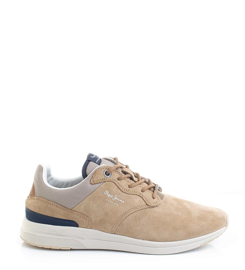 Comprar Pepe Jeans Zapatillas de piel Jayker Dual D-Limit 19 marrón