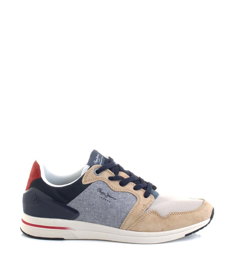 Comprar Pepe Jeans Zapatillas Jayker Dual D-Limit marino, marrón