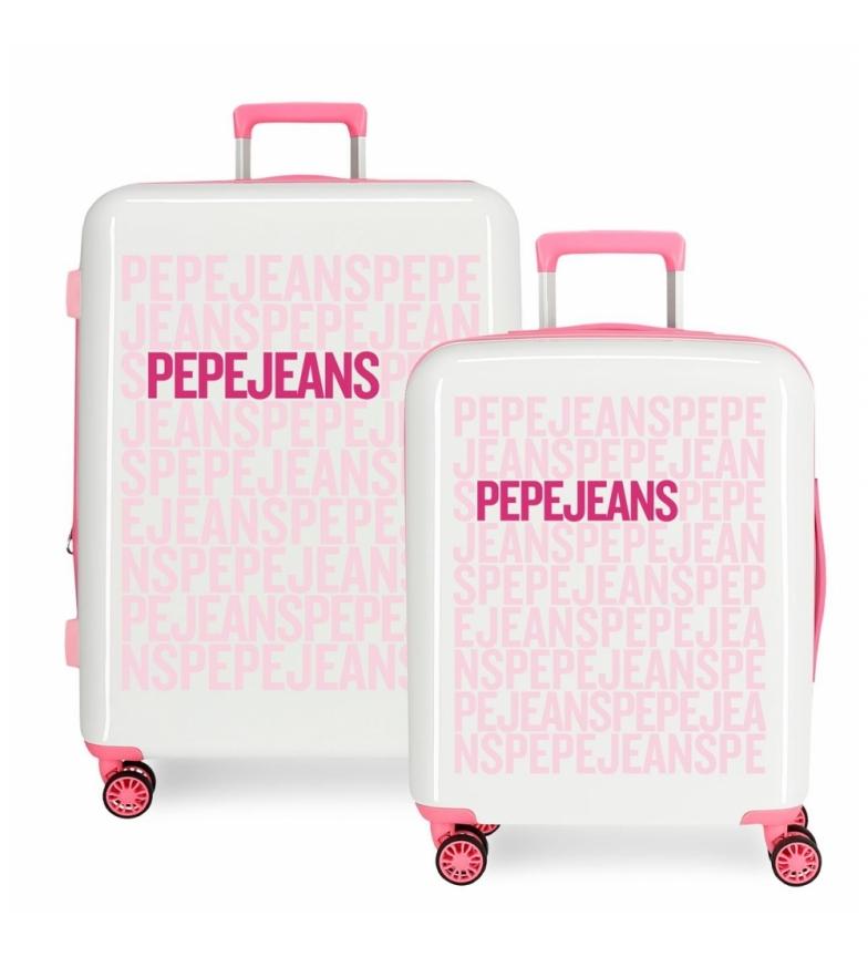 Comprar Pepe Jeans Conjunto de malas Pepe Jeans rígido 38.4L / 81L Tomas Pink -55x40x20 / 70x48x26 cm.