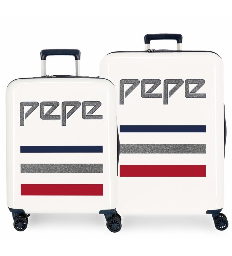 Comprar Pepe Jeans Conjunto de malas Pepe Jeans Descolagem rígida 38,4L e 81L bege -55x40x20cm/70x48x28cm